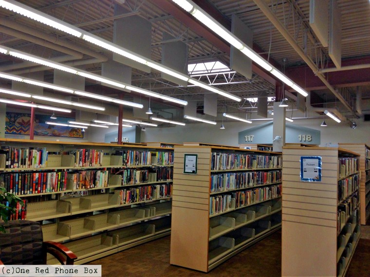 Visit the Antigonish Town & County library, a beautiful, extra large public space, featuring art from the L'Arche community, an outdoor patio, and obviously, numerous books. (Important announcement: Spotless bathrooms found here!)