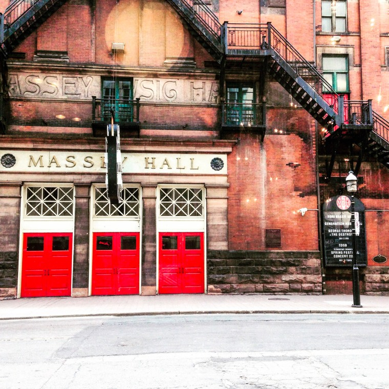 Canada 150 Bucket List - Massey Hall - One Red Phone Box
