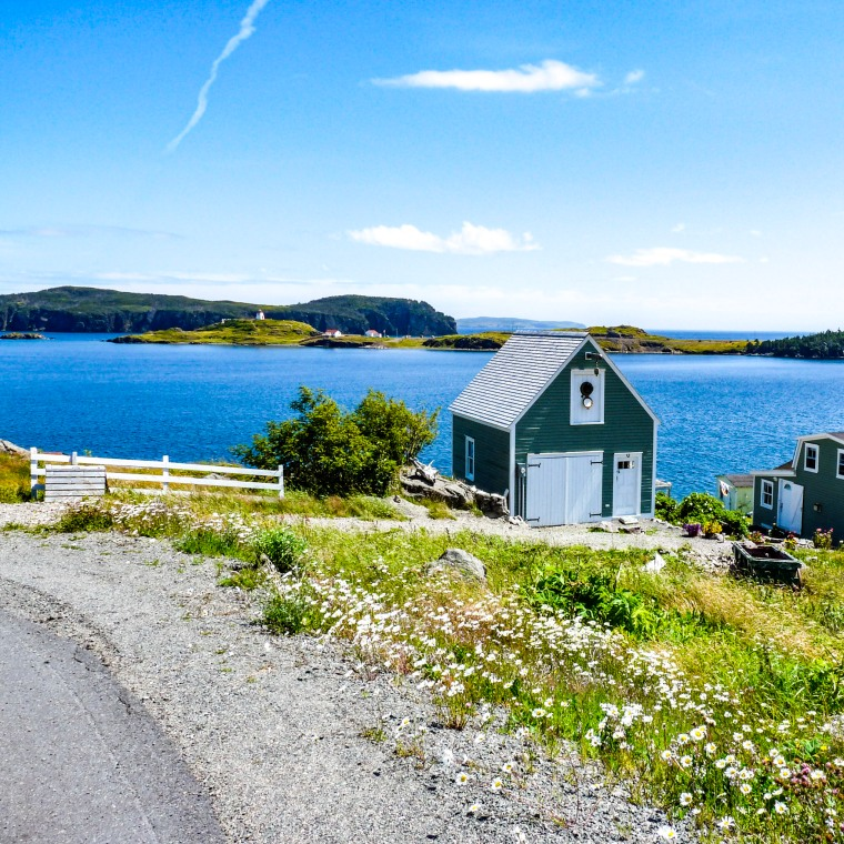 Canada 150 Bucket List - Trinity Bay - One Red Phone Box