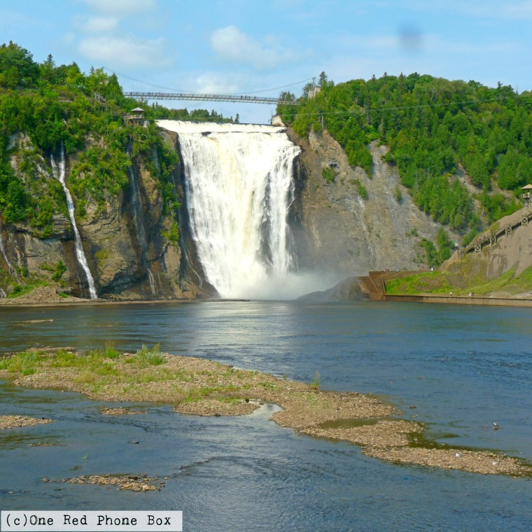 Canada 150 Bucket List - Montmorency Falls -  One Red Phone Box